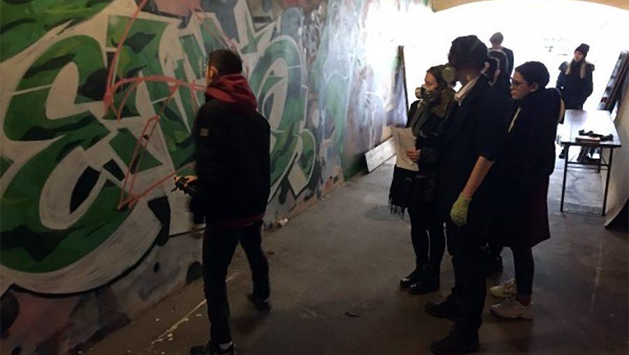 мастер класс по граффити